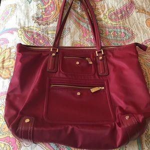Tutilo Large Red Shoulder Tote Bag Handbag